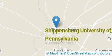 Location of Shippensburg University of Pennsylvania