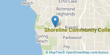 Location of Shoreline Community College