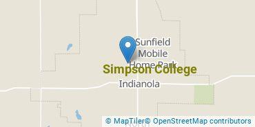 Location of Simpson College