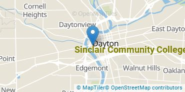 Location of Sinclair Community College
