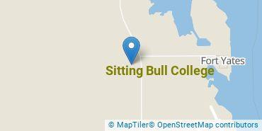 Location of Sitting Bull College