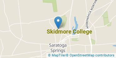 Location of Skidmore College