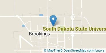 Location of South Dakota State University
