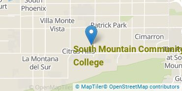 Location of South Mountain Community College