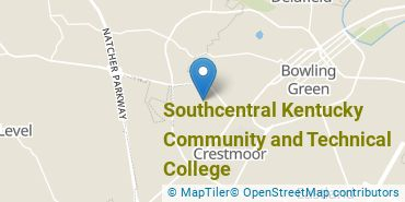 Location of Southcentral Kentucky Community and Technical College