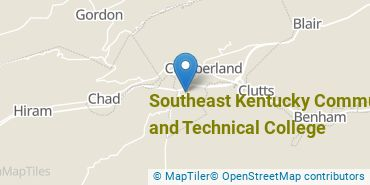 Location of Southeast Kentucky Community and Technical College