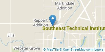 Location of Southeast Technical Institute