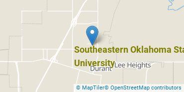 Location of Southeastern Oklahoma State University