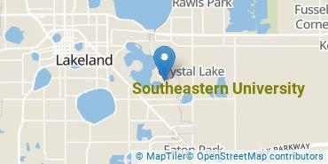 Location of Southeastern University