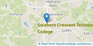 Location of Southern Crescent Technical College