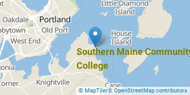 Location of Southern Maine Community College