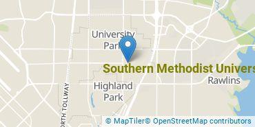 Location of Southern Methodist University