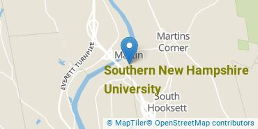 Location of Southern New Hampshire University