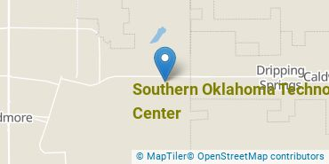 Location of Southern Oklahoma Technology Center