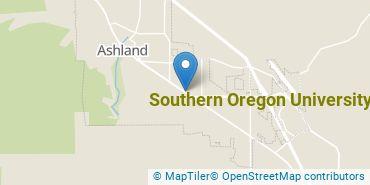 Location of Southern Oregon University