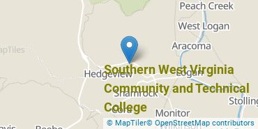 Location of Southern West Virginia Community and Technical College