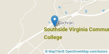 Location of Southside Virginia Community College