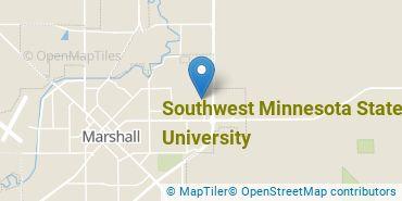 Location of Southwest Minnesota State University