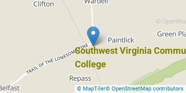 Location of Southwest Virginia Community College