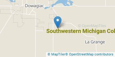 Location of Southwestern Michigan College
