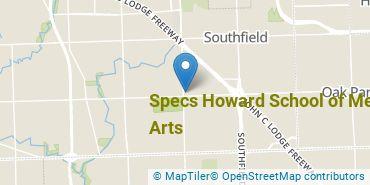 Location of Specs Howard School of Media Arts