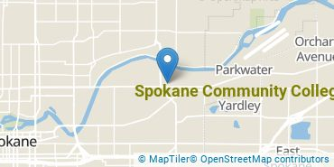 Location of Spokane Community College