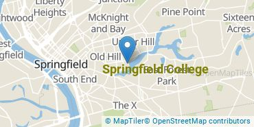 Location of Springfield College
