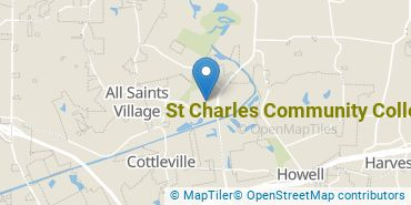 Location of St Charles Community College