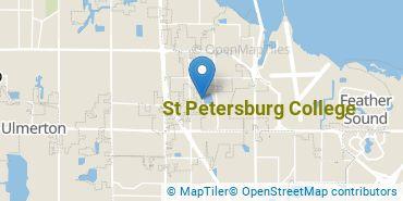 Location of St Petersburg College