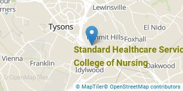 Location of Standard Healthcare Services - College of Nursing