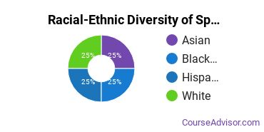 Racial-Ethnic Diversity of Specialized Sales, Merchandising & Marketing Majors at Stark State College