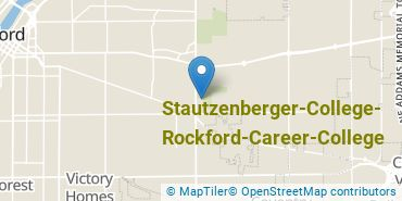 Location of Stautzenberger College - Rockford Career College