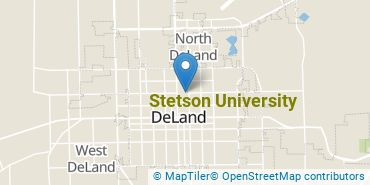 Location of Stetson University