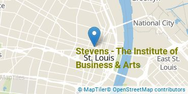 Location of Stevens - The Institute of Business & Arts