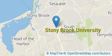 Location of Stony Brook University