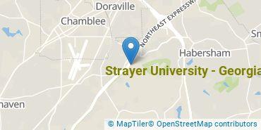 Location of Strayer University - Georgia