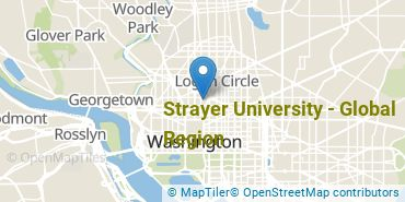 Location of Strayer University - Global Region
