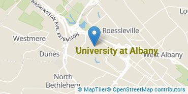 Location of University at Albany