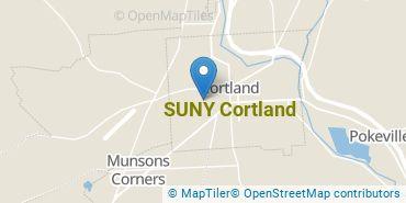 Location of SUNY Cortland