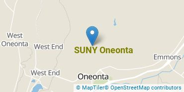 Location of SUNY Oneonta