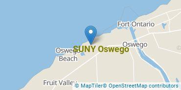 Location of SUNY Oswego