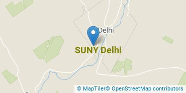 Location of SUNY Delhi