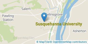 Location of Susquehanna University