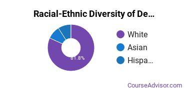 Racial-Ethnic Diversity of Design & Applied Arts Majors at Susquehanna University