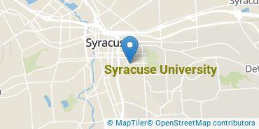 Location of Syracuse University
