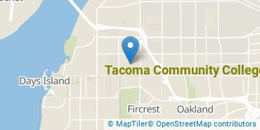 Location of Tacoma Community College