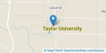 Location of Taylor University