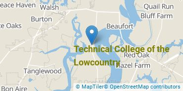 Location of Technical College of the Lowcountry