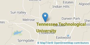 Location of Tennessee Technological University