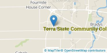 Location of Terra State Community College